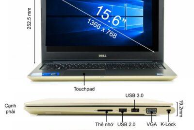 Đánh giá Dell Vostro 5568 có tốt không: Thiết kế, Cấu hình, Giá bán