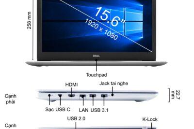 14 laptop Dell có đèn bàn phím tốt nhất cấu hình khủng giá từ 15tr