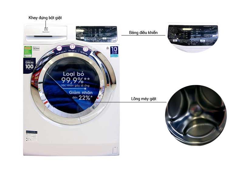 Có nên mua máy giặt Electrolux EWF9025BQWA không?