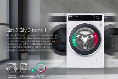 Hướng dẫn cách sử dụng máy giặt sấy LG các chức năng chi tiết