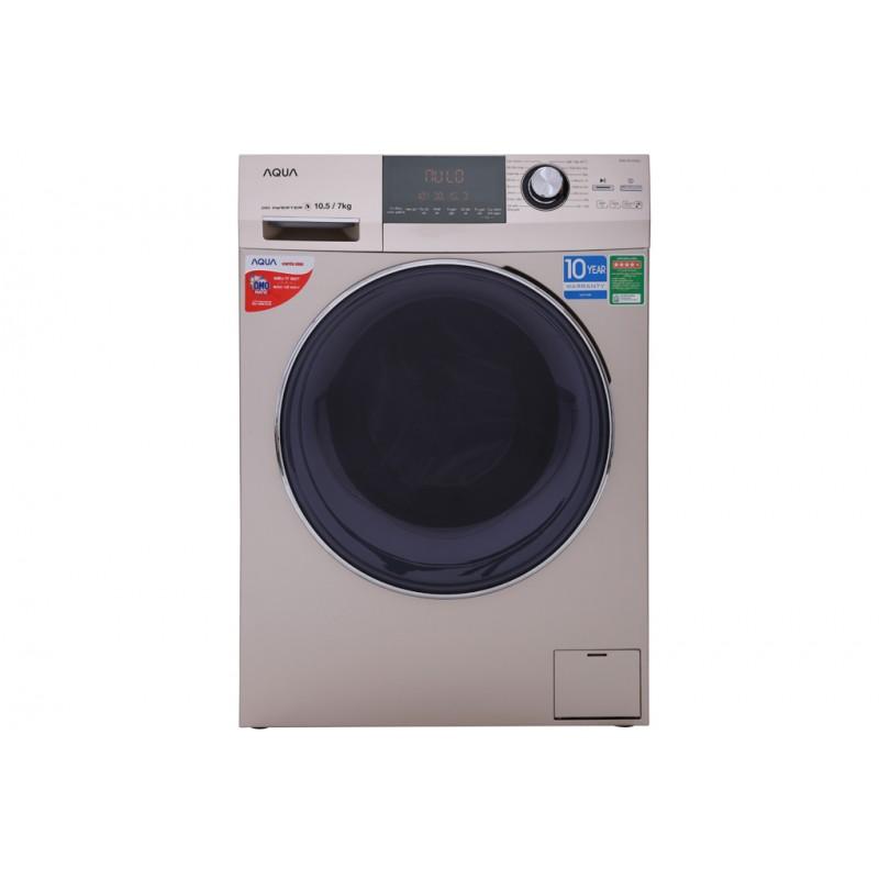 Máy giặt Aqua khiến quần áo luôn sạch sẽ, khô thoáng
