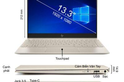 Đánh giá laptop HP Envy 13-AH1011TU 5HZ28PA: Cấu hình, Giá bán