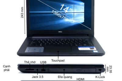 Đánh giá laptop Dell Inspiron 3476 C4i51121 tốt không, giá bao nhiêu