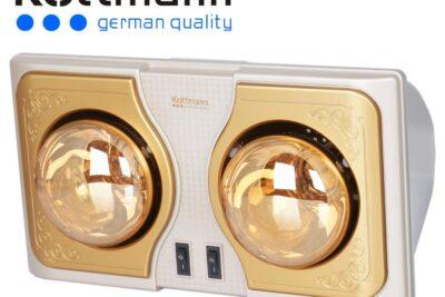 Đèn sưởi nhà tắm 2 bóng Kottmann K2B-H có tốt không, giá bán, nơi mua
