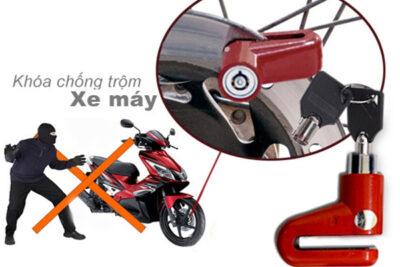 Các giải pháp đối phó với nạn ăn cắp xe máy
