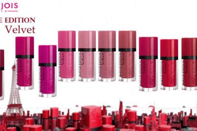 Bourjois Rouge Edition Velvet – Sắc màu lôi cuốn