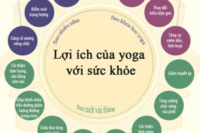 Yoga và lợi ích của việc tập Yoga thường xuyên