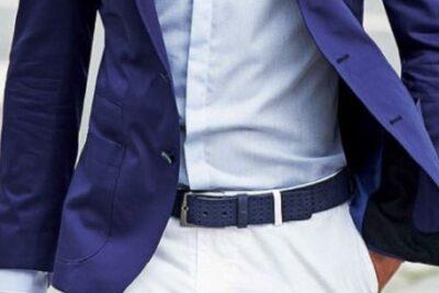 Chọn và sử dụng thắt lưng đúng điệu cho chàng trai hiện đại