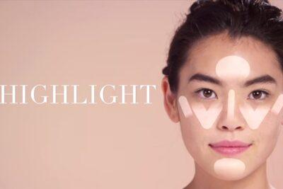 Tạo khối và highlight cho gương mặt tròn thêm thon gọn, cân đối