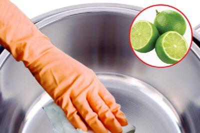 Hướng dẫn cách làm sạch bộ nồi inox trong bếp
