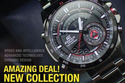 5 dòng đồng hồ đeo tay Casio mà phái mạnh nên sở hữu