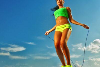 Giảm cân hiệu quả với bài tập nhảy dây