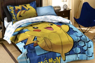 Trang trí phòng ngủ dễ thương cho bé theo phong cách Pokemon