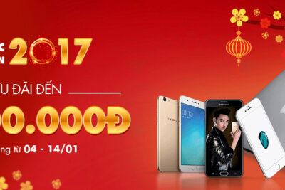 """""""Rước lộc khai xuân 2017""""- Cơ hội rinh ngay iPhone 7 giá sốc"""