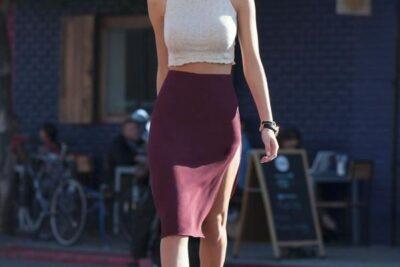 Cách diện chân váy Midi đúng chuẩn cho bạn gái