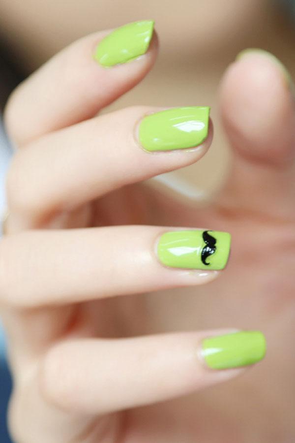 Màu xanh lá cây rất phù hợp với cô nàng Kim Ngưu