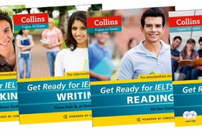 Những quyển sách tự học IELTS trình độ 4.0-4.5 cho người mới bắt đầu