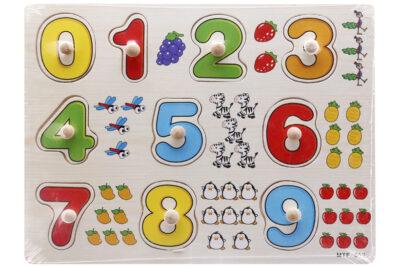 Những món đồ chơi gỗ an toàn giúp bé làm quen với toán học
