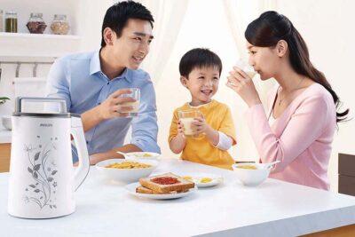 5Công dụng tuyệt vời của sữa đậu nành