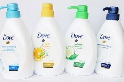 Sữa tắm Dove có tốt không và các loại sữa tắm Dove trên thị trường