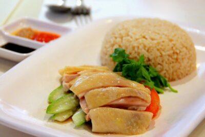 Top 5 nhà hàng cơm gà Hải Nam Singapore nổi tiếng nhất