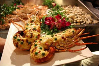 Buffet tôm hùm Hà Nội bữa đại tiệc sang trọng