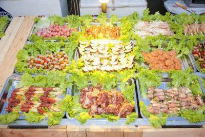 Tổng hợp buffet nướng 99k TPHCM cực hút khách