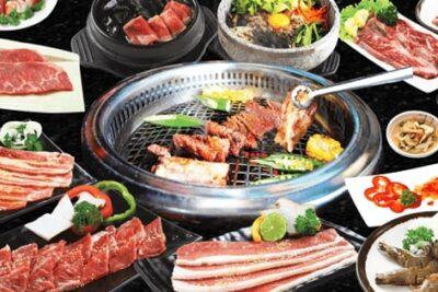 Buffet King BBQ 169k menu thực đơn 22 món nướng ngon