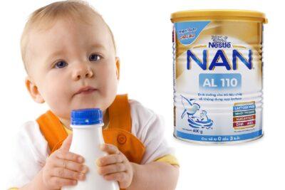 Các loại sữa Việt Nam cho bé tăng cân tốt phát triển đều uy tín nhất