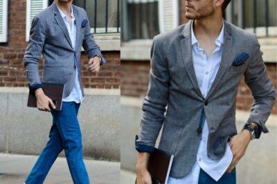 10 cách phối áo vest nam với quần jean đầy sức hút, cá tính, hợp mốt