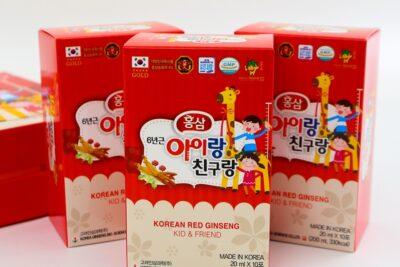 Cách dùng hồng sâm baby Hàn Quốc cho trẻ từ 2-8 tuổi đúng liều lượng