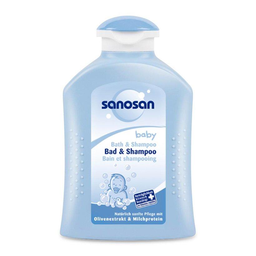 Sữa tắm gội Sanosan
