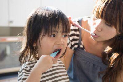 Hướng dẫn trẻ 1-3 tuổi chải răng đúng cách khoa học chuẩn giáo án