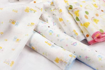Khăn sữa cho bé loại nào tốt nhất: Nanio Sunbaby Nappi Pororo Mamamy