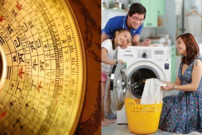 4 cách đặt máy giặt theo phong thủy ở ban công, nhà tắm, cạnh bếp