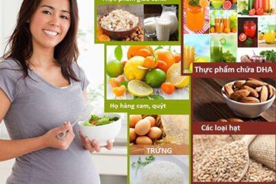 Mang thai 3 tháng đầu nên ăn gì? 20 món ăn cho mẹ an thai phòng tránh dị tật
