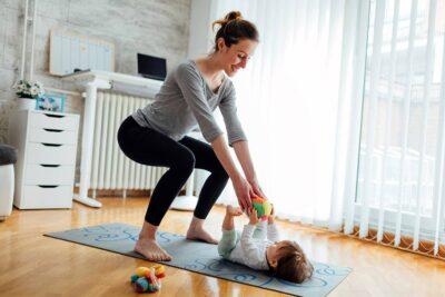 8 bài tập thể dục sau sinh 2 tháng giảm mỡ bụng, căng thẳng, trầm cảm
