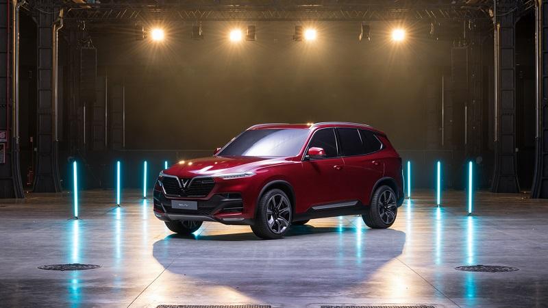 Ô tô VinFast SUV Lux SA2.0