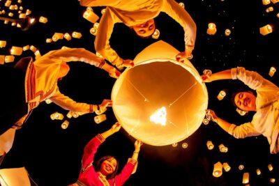 Lễ hội đèn trời Thái Lan Chiang Mai vào ngày nào, chuẩn bị gì