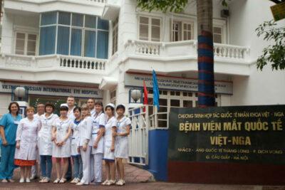 Địa chỉ viện mắt Việt Nga tại HN, HCM? Các gói khám điều trị thị lực