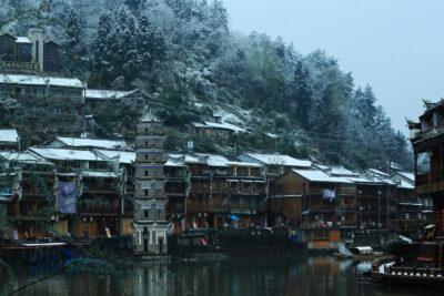 Đi Phượng Hoàng cổ trấn mùa nào đẹp nhất, tháng mấy có tuyết rơi