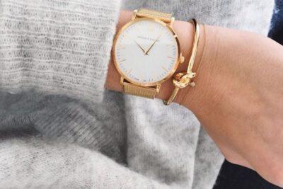 Cách đeo đồng hồ Daniel Wellington dây kim loại, dây vải sành điệu