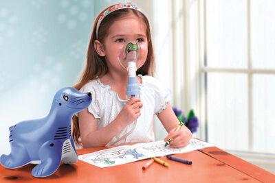 Máy xông mũi họng cho trẻ em loại nào tốt: Omron Beurer Medisana