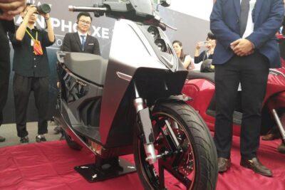 Lộ hình ảnh mẫu e-scooter VinFast tiếp theo: tên V9, cao cấp hơn Klara