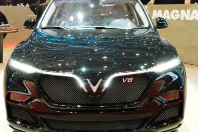 VinFas trình làng mẫu SUV LUX phiên bản đặc biệt tại Thụy Sỹ