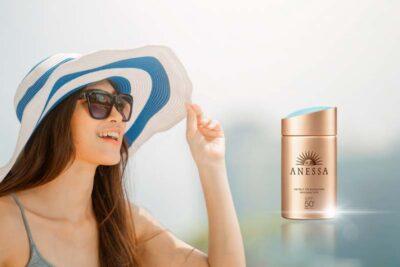Review kem chống nắng Anessa Perfect UV Sunscreen Mild Milk giá 500k có tốt không
