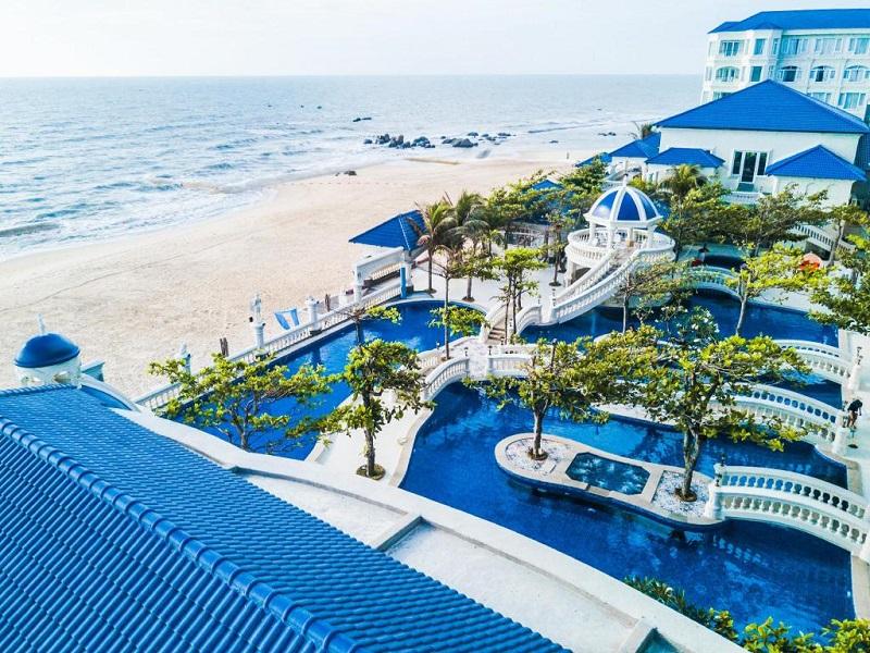 Resort Lan Rừng như một tòa lâu đài bên bờ biển