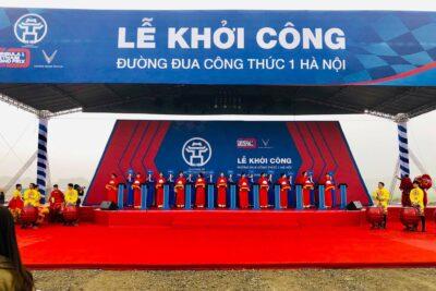 Quá trình khởi công đường đua F1 Hà Nội thời gian nào hoàn thành