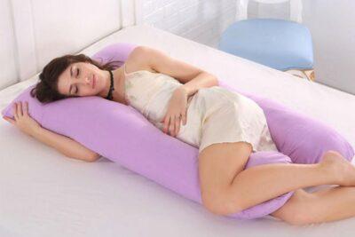 19 mẫu gối ngủ cho bà bầu êm ái không gây đau vai gáy giá từ 300k