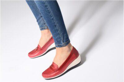 7 cách phối đồ với giày bệt hở gót nữ Geox D Marlyna E nổi bật